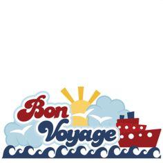 Cruise clipart bon voyage Clipart Cruise Voyage  Bon