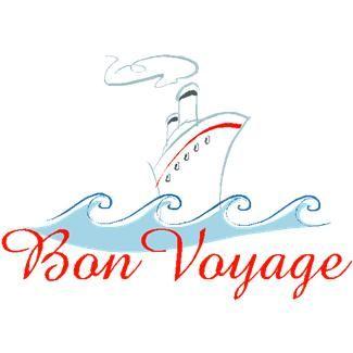 Cruise clipart bon voyage Bon about free images bon