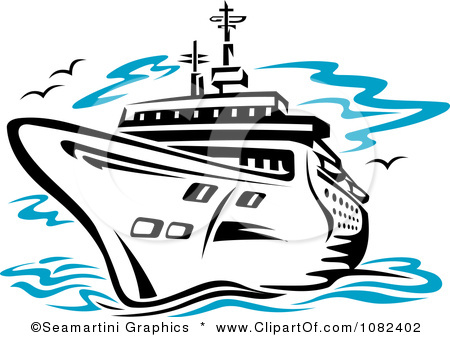 Cruise clipart border White clipart and Clipart Dinner