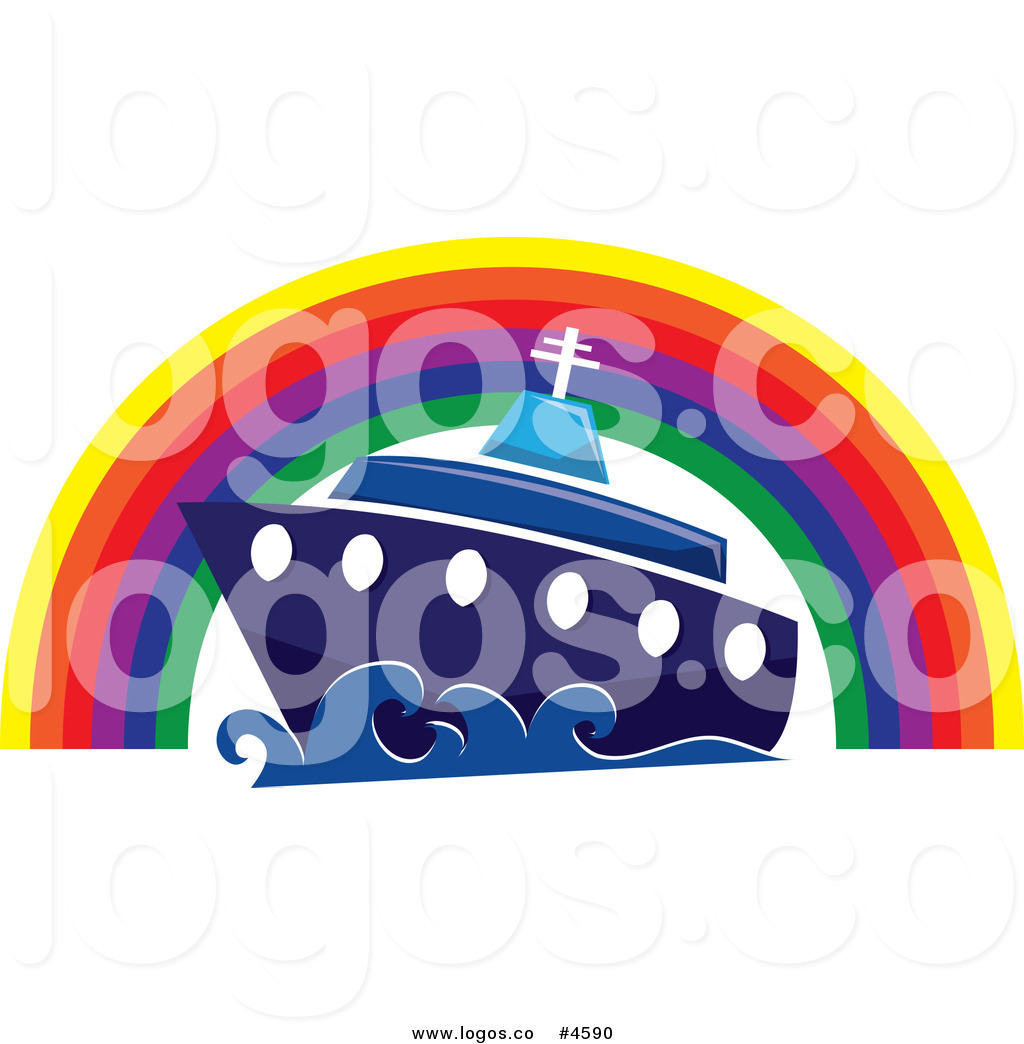 Cruise clipart logo Free Free a Under Rainbow