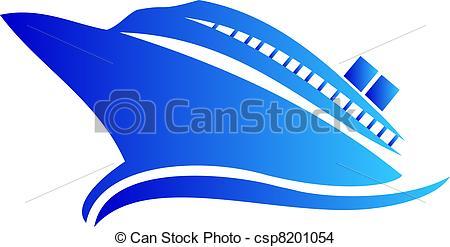 Cruise clipart logo Or or EPS csp8201054 Clip