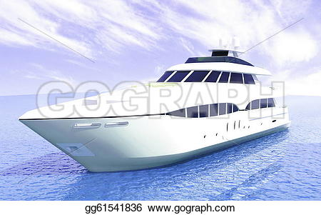 Cruise clipart luxury Clipart Illustration Luxury Clipart yacht