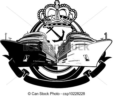 Cruise clipart luxury Boat Party Vacation csp10228228 Sign