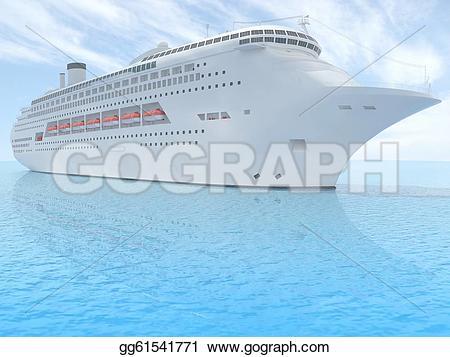 Cruise clipart luxury Ship Art Luxury  Stock
