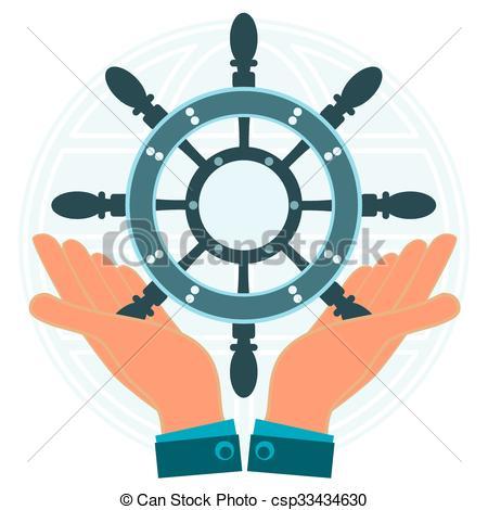 Cruise clipart marine ship Wheel Ship on Vectors dream
