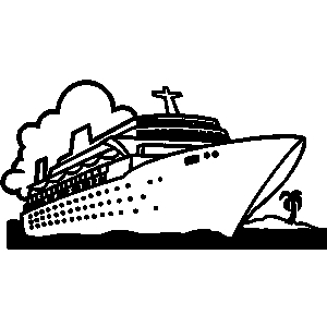 Cruise clipart marine ship Download Clip Clip Vacations Art