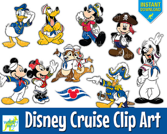 Disneyland clipart cruise Mickey  Minnie Clip with