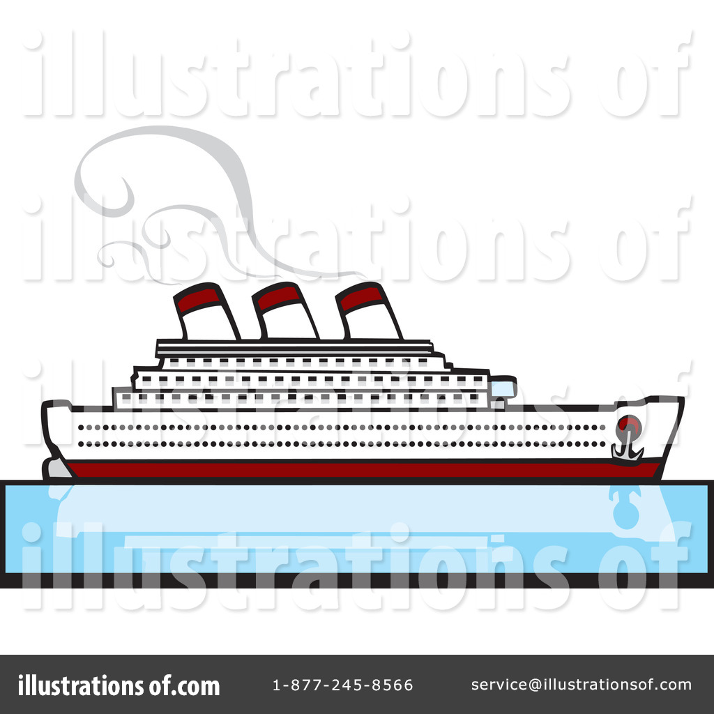 Ferry clipart cruise ship Collection Clipart Illustration #60183 Cruise