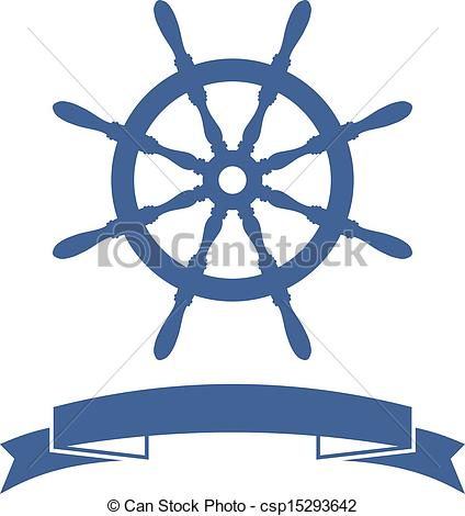 Cruise clipart ship wheel Background Ship  of Vector