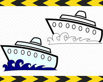 Cruise clipart shipping Ship DIY Etsy for Pdf