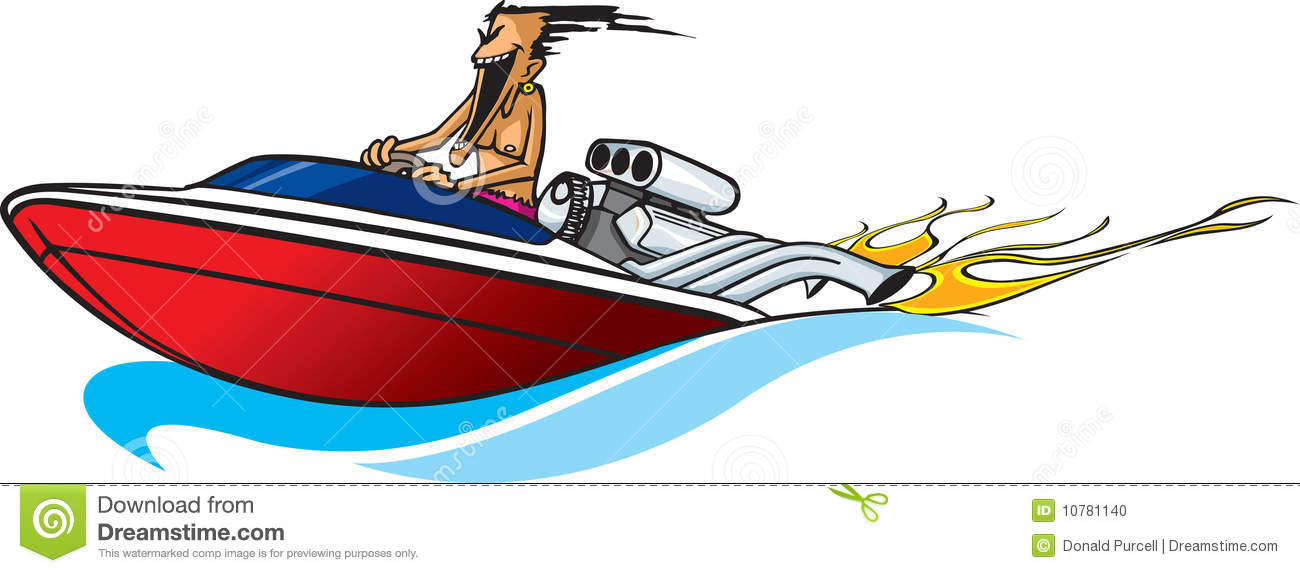 Boat clipart speed boat Boat clipart Stock Boating