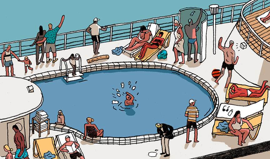 Cruise clipart water safety Of Cruise every lifeguards cruise