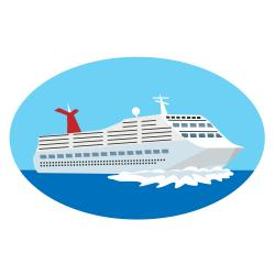 Floating clipart background Cruise Ship 3 Clipart Cruise