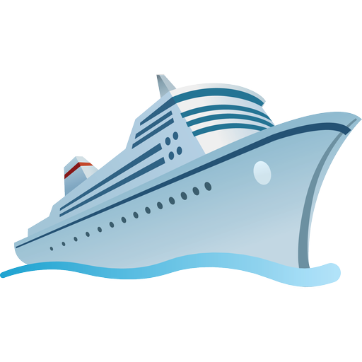 Cruise clipart shipping Free Icon Cruise Collection Tourism