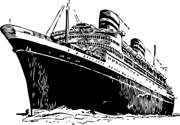 Cruise Ship clipart cruise liner Art Free  Cruise vector)