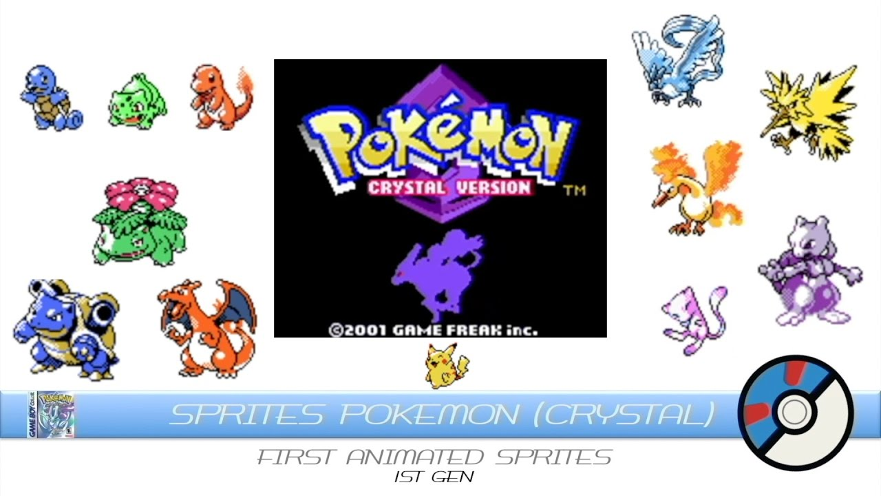 Crystals clipart animated Pokemon Animated YouTube Sprites Sprites