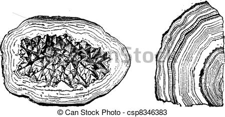 Crystal clipart geode And Old Geode Geode Agate