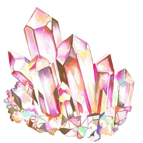 Crystal clipart geode A quartz want Tattoo Really