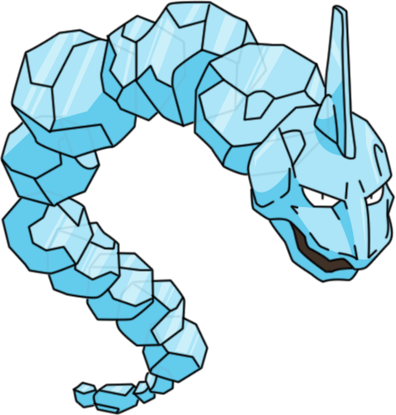 Crystal clipart precious & evolution locations  Onix