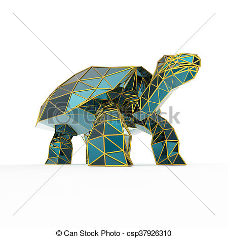 Crystals clipart sapphire With tortoise galapagos  of