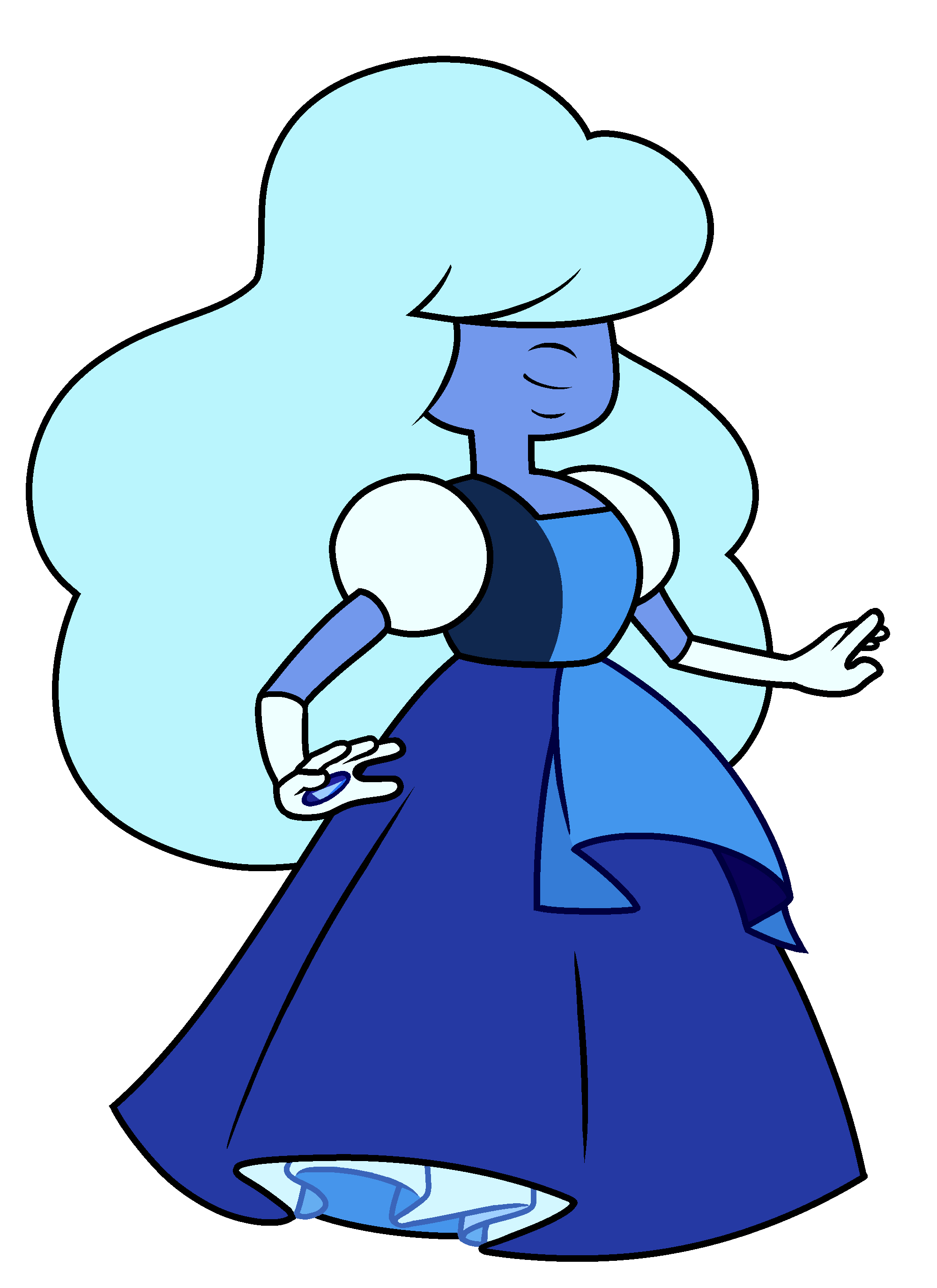"Crystals clipart sapphire Sapphire "" by (Crystal Wikia"