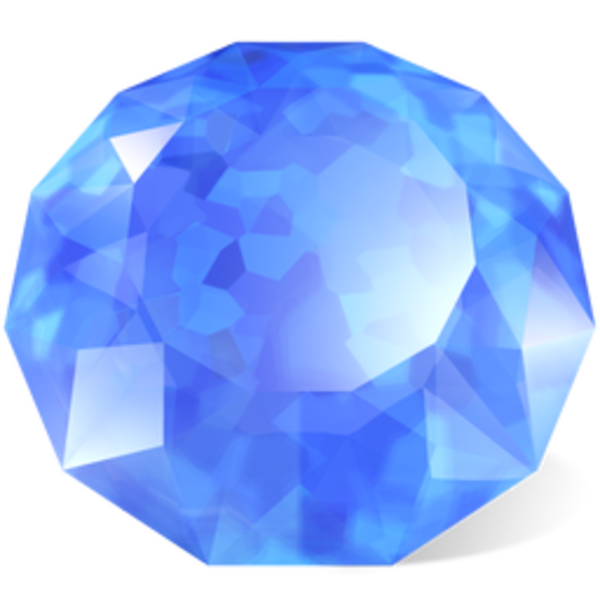 Crystals clipart sapphire At Images Clker as: Free