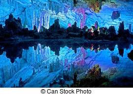 Crystal clipart stalactite China; displaying China Illuminated Picture