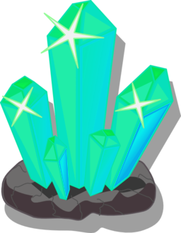 Crystals clipart Domain Clipart i2Clipart PNG Royalty