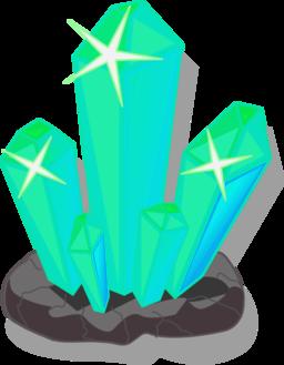 Crystals clipart Free Public i2Clipart Crystals PNG