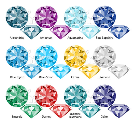 Crystals clipart sapphire Clipart Jewelry Graphics Jewels file