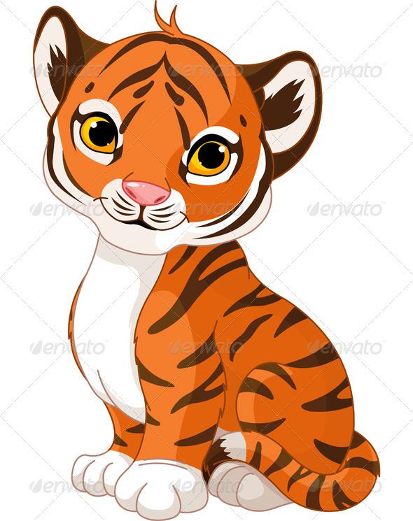 Tigres clipart zoo animal #1