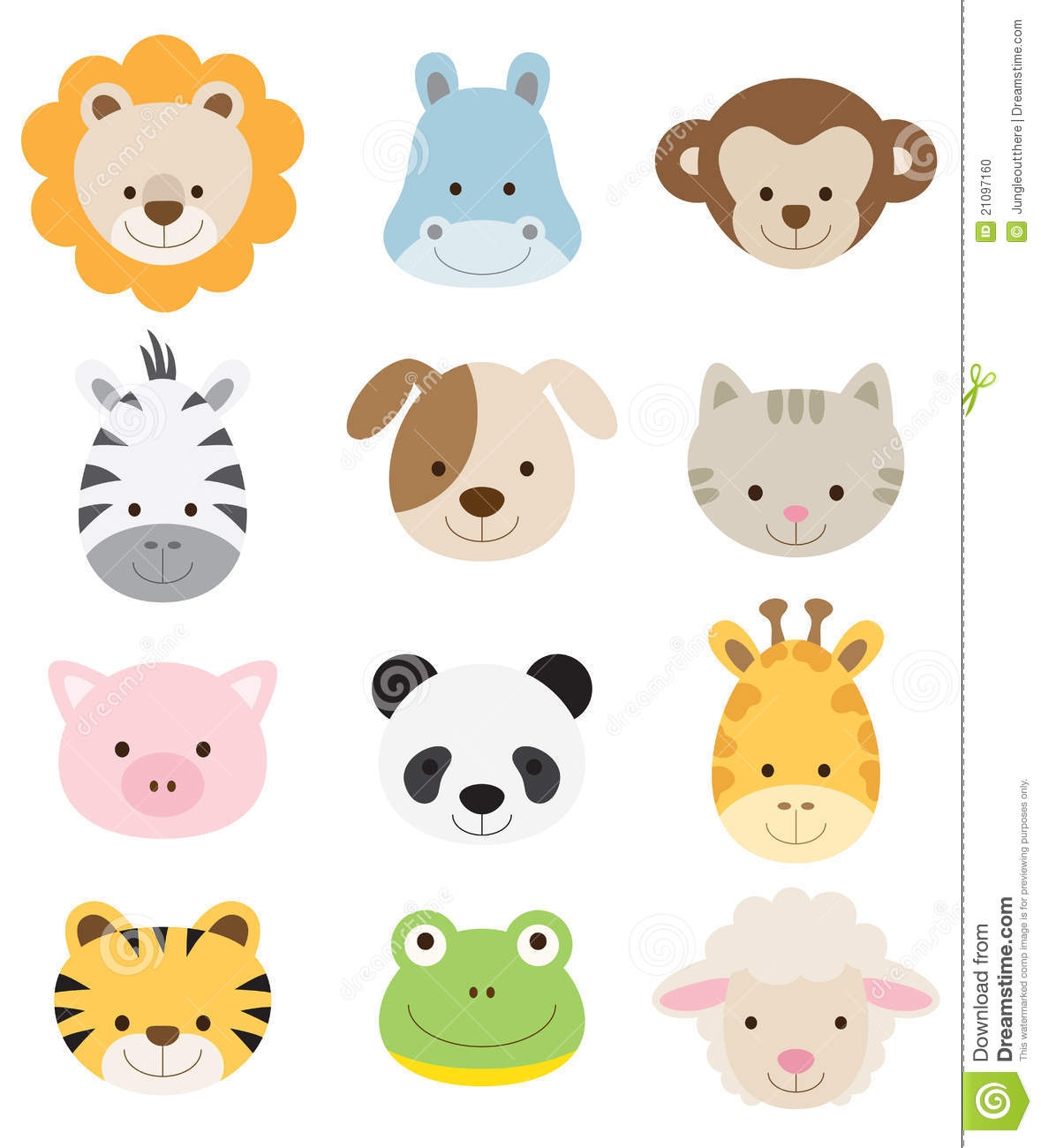 Animal clipart baby animal Animal Graphics Part Jungle Animals