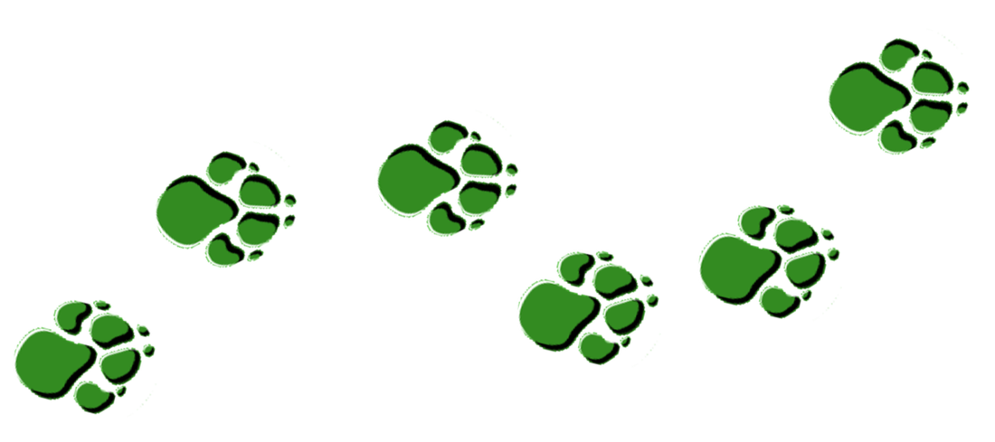 Paw clipart cub scouts 1st Cub paw Topcliffe clipart