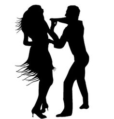 Cuba clipart merengue dance Baila Black My aplaudieron Vision