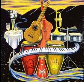 Cuba clipart music ♫ ♫ on Cuban music
