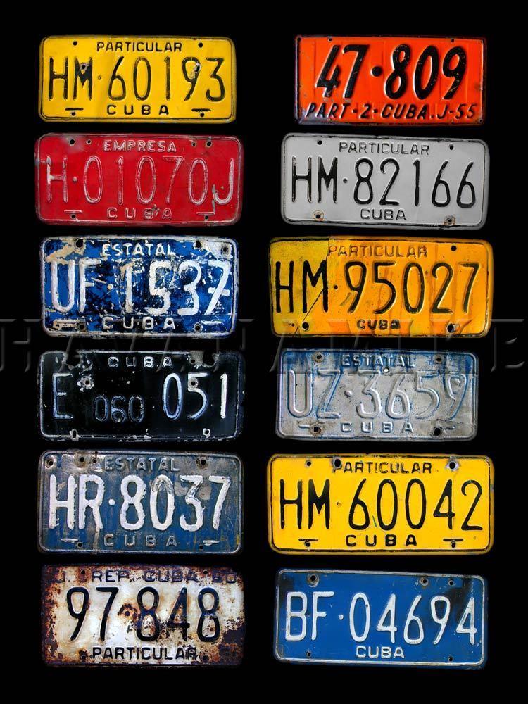 Cuba clipart plate Cuban Nights license image VINTAGE