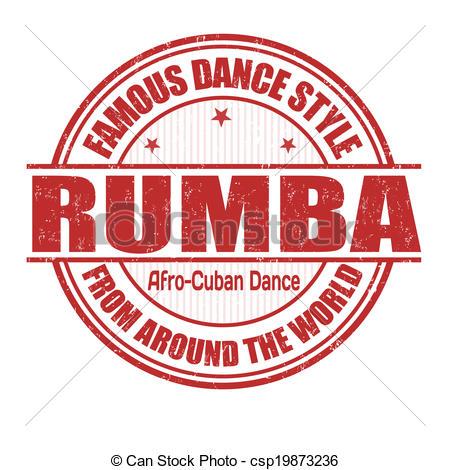 Cuba clipart rumba Rubber style Rumba csp19873236 dance
