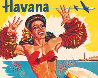 Cuba clipart rumba Vintage Rumba Dance Carnival Repro