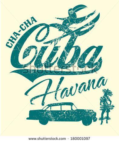 Cuba clipart vintage Artwork images best Cuba Pinterest