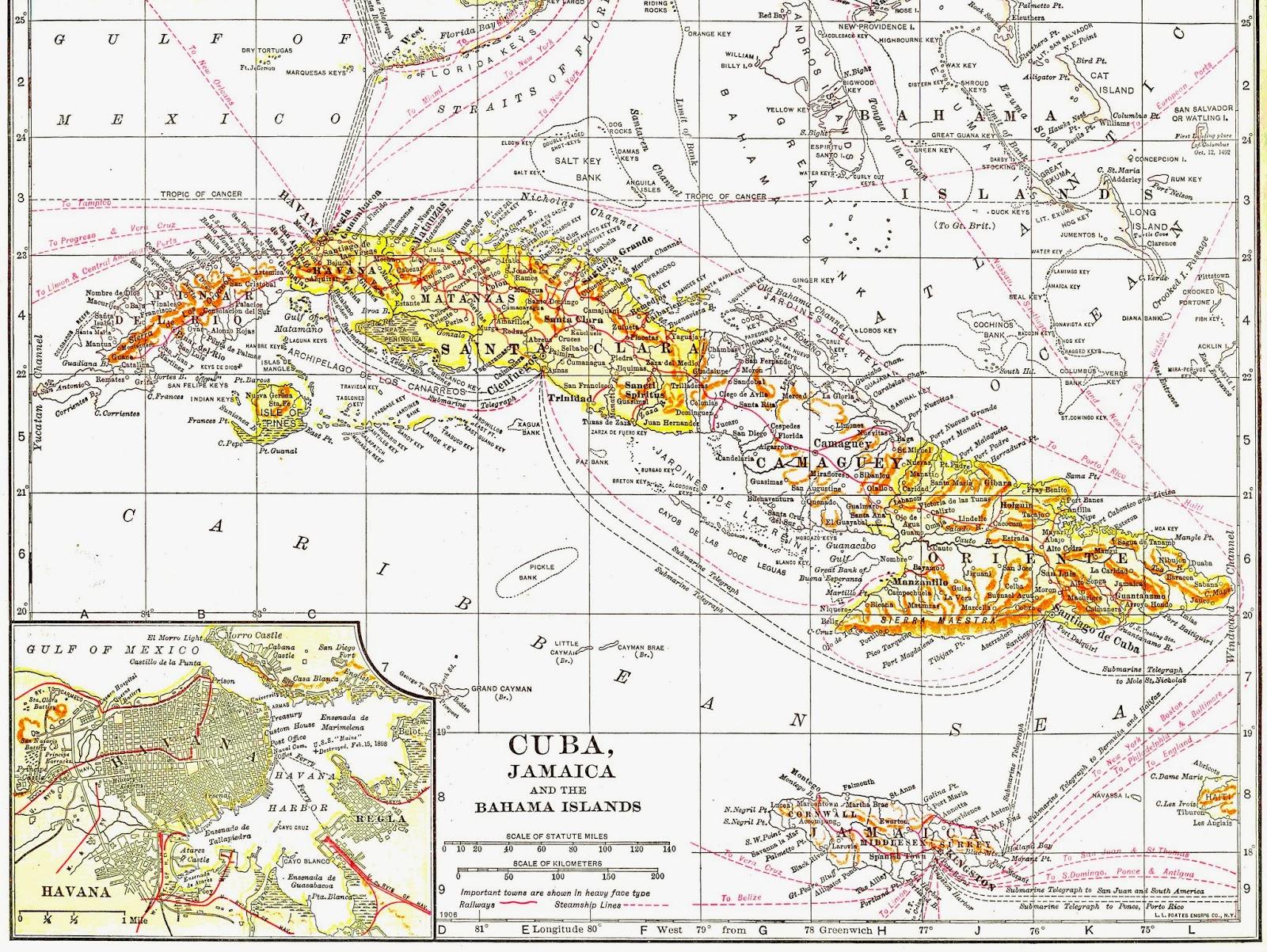 Cuba clipart vintage Images: and Clip Cuba Map