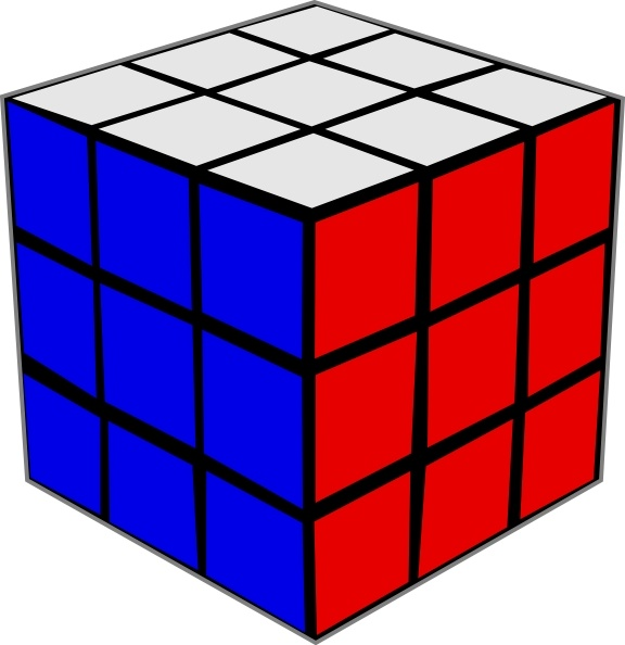 Tofu clipart 3d cube Free Rubik ( svg office