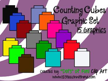 Cube clipart counting Clipart Cubes art cubes counting