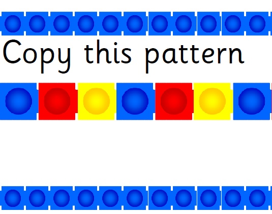 Cube clipart counting Best cubes 34 colour repeating