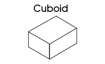 Shapes clipart cubiod #9