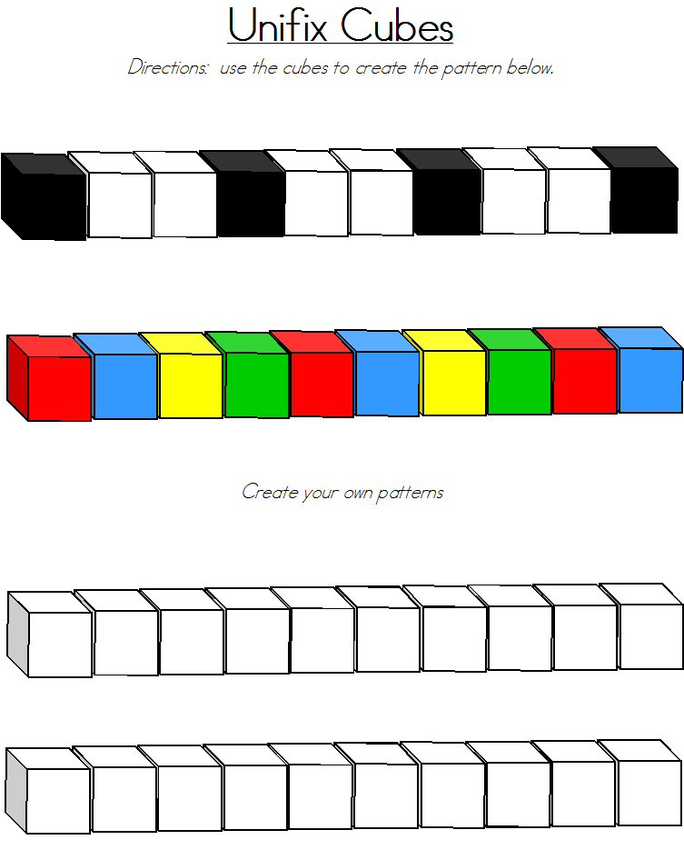 Cube clipart link Free linking Cubes Clip Clipart