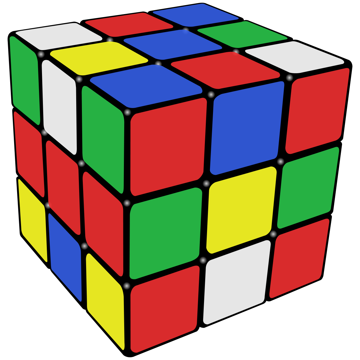 Cube clipart link  solutions Cube for Rubik's