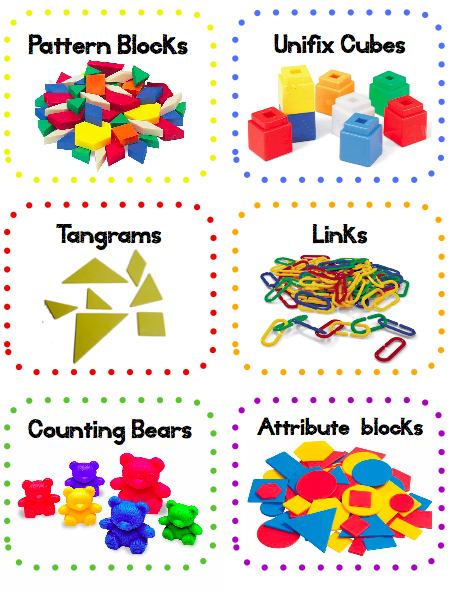 Cube clipart math counters Cliparts Clipart Manipulatives Math Manipulatives