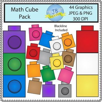 Cube clipart math counters Cubes or Clip Use) about