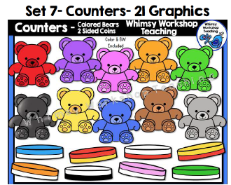 Cube clipart math counters Whimsy Workshop Counters Teaching Math
