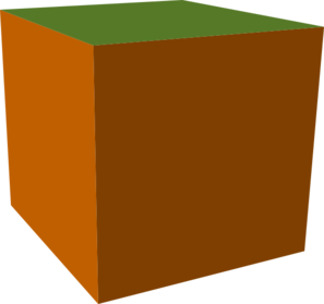 Cube clipart net a Arts green Download Cube Brown